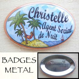 Badges Métal