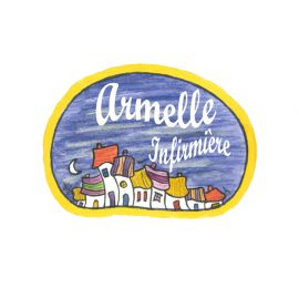 Badge en bois Ville Endormie
