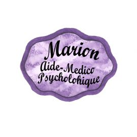 Badge en bois Violet