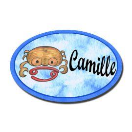 Badge Métal Cancer