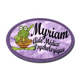 Badge Métal Grenouille