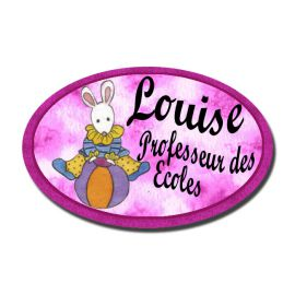 Badge Métal Lapin