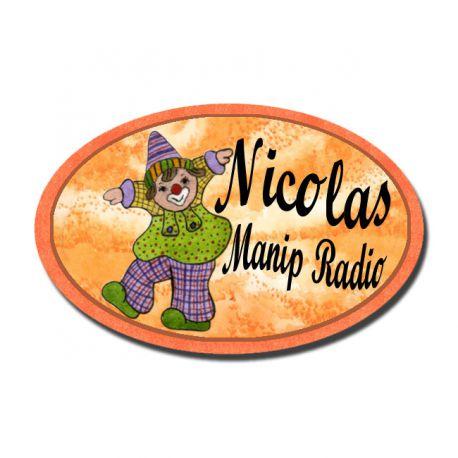 Badge Métal Clown