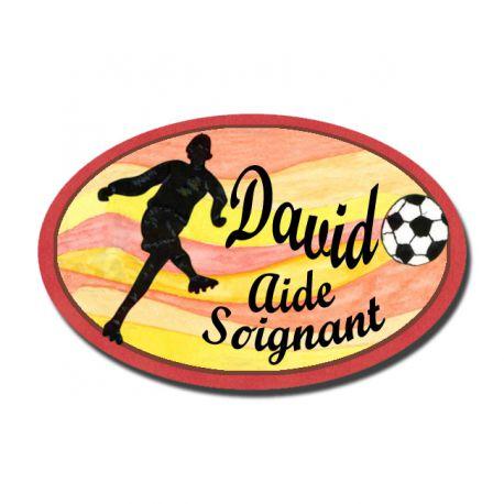 Badge Métal Football