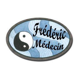 Badge Métal Ying Yang