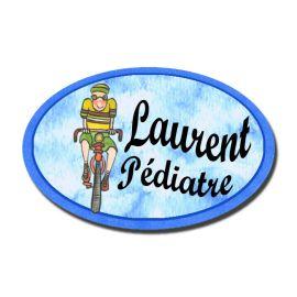 Badge Métal Cycliste