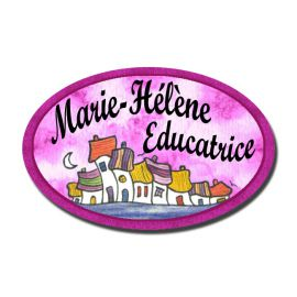 Badge Métal Belle Endormie