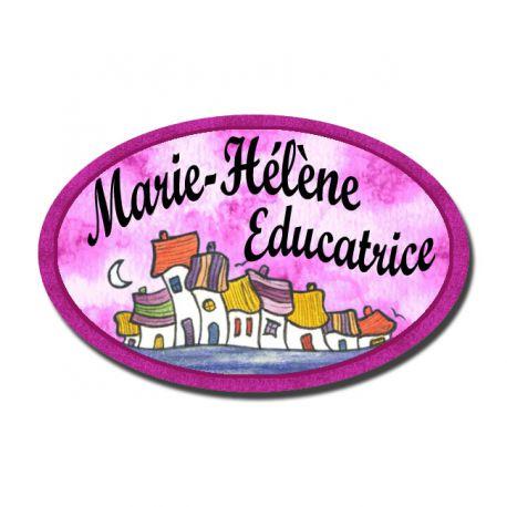 Badge Métal Belle Endormie