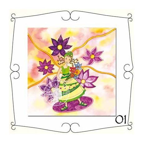 Cartes Postales Bouquet de fleurs