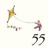 55.Cerf Volant