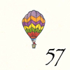 57.Montgolfière