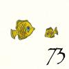 73.Poissons Jaunes