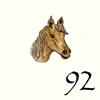 92.Tête Cheval